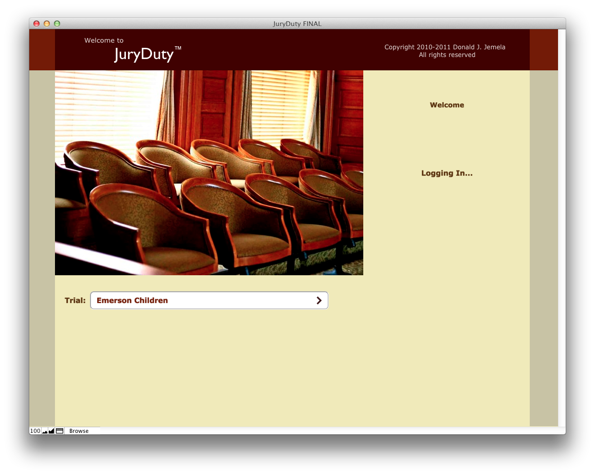 Law firm turns to FileMaker to streamline jury selection